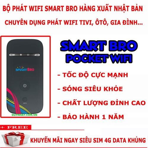 Cục phát wifi TỐT - Smart Bro Giá cực hấp dẫn- tặng sim 4G TỐC ĐỘ CỰC CAO - 6349375 , 16455260 , 15_16455260 , 704000 , Cuc-phat-wifi-TOT-Smart-Bro-Gia-cuc-hap-dan-tang-sim-4G-TOC-DO-CUC-CAO-15_16455260 , sendo.vn , Cục phát wifi TỐT - Smart Bro Giá cực hấp dẫn- tặng sim 4G TỐC ĐỘ CỰC CAO