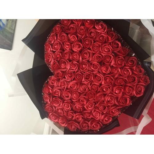 bó hoa hồng sáp thơm 99 bông - 6341070 , 16448150 , 15_16448150 , 750000 , bo-hoa-hong-sap-thom-99-bong-15_16448150 , sendo.vn , bó hoa hồng sáp thơm 99 bông