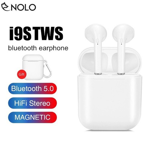Tai Nghe Earpod Không Dây Bluetooth V5.0 Nolo I9s TWS Cao Cấp