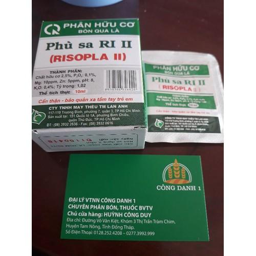 phân hữu cơ phù sa ri II bón qua lá - 6339891 , 16446691 , 15_16446691 , 9000 , phan-huu-co-phu-sa-ri-II-bon-qua-la-15_16446691 , sendo.vn , phân hữu cơ phù sa ri II bón qua lá
