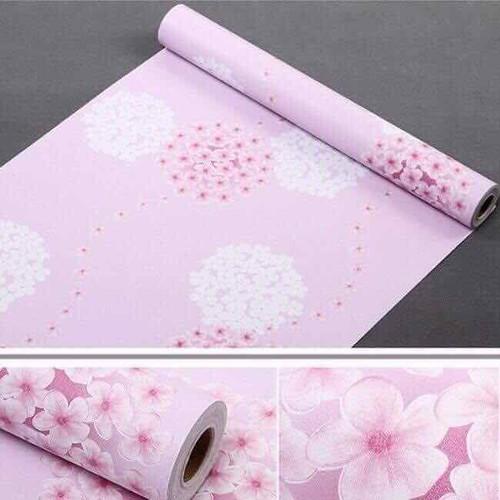 giấy dán tường 1 cuộn 10m có keo sẵn