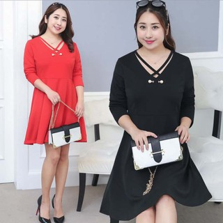Đầm Bigize cao cấp dành cho người mập từ 60-120kg - V56 thumbnail