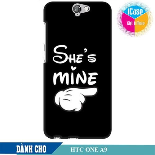 Ốp lưng nhựa dẻo dành cho HTC One A9 in hình She is Mine