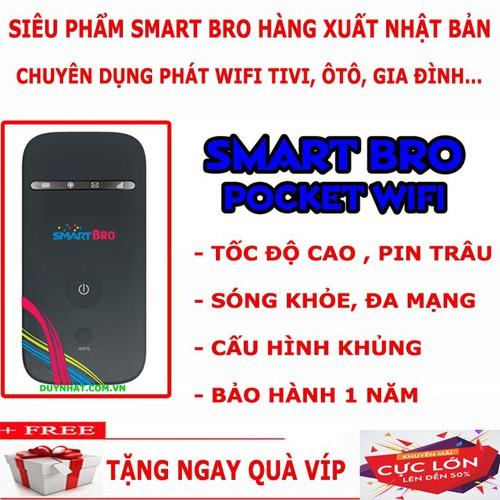 Thiết bị mạng di động phát wifi từ sim Smart Bro cấu hình cao- SIÊU TỐT - 6349655 , 16455699 , 15_16455699 , 714000 , Thiet-bi-mang-di-dong-phat-wifi-tu-sim-Smart-Bro-cau-hinh-cao-SIEU-TOT-15_16455699 , sendo.vn , Thiết bị mạng di động phát wifi từ sim Smart Bro cấu hình cao- SIÊU TỐT