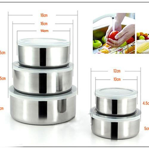Hộp inox đựng thực phẩm 5 hộp có nắp tiện dụng - 6342446 , 16448962 , 15_16448962 , 99000 , Hop-inox-dung-thuc-pham-5-hop-co-nap-tien-dung-15_16448962 , sendo.vn , Hộp inox đựng thực phẩm 5 hộp có nắp tiện dụng