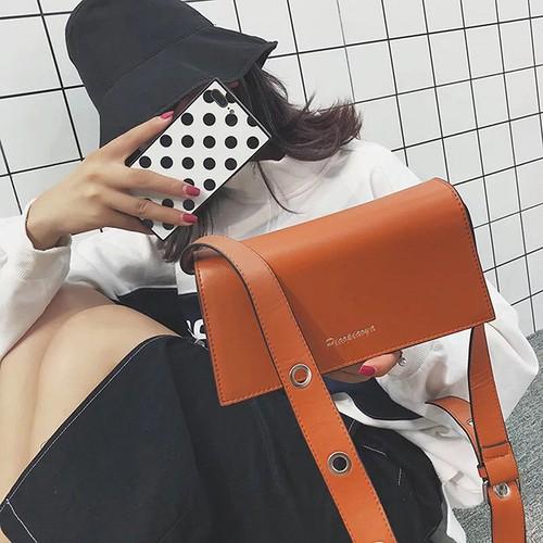 Túi đeo vai quai rộng kiểu dáng đơn giản phong cách Hàn Quốc - 4716384 , 16455507 , 15_16455507 , 250000 , Tui-deo-vai-quai-rong-kieu-dang-don-gian-phong-cach-Han-Quoc-15_16455507 , sendo.vn , Túi đeo vai quai rộng kiểu dáng đơn giản phong cách Hàn Quốc