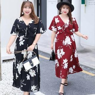 Đầm Bigsize cao cấp dành cho người mập từ 55-90Kg - V57 thumbnail