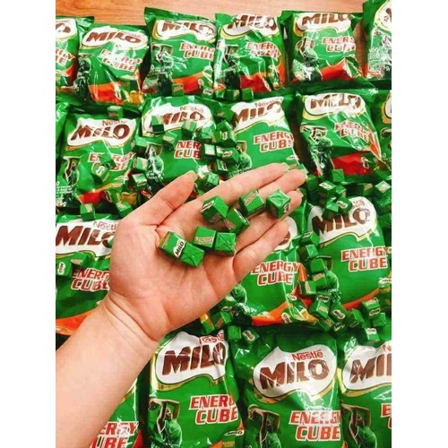 Kẹo milo cube túi 100 viên