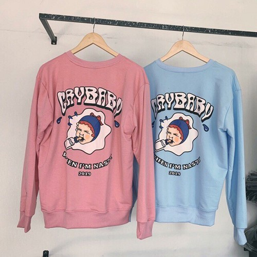 Áo Sweater CRY BABY - 6359488 , 16463893 , 15_16463893 , 117000 , Ao-Sweater-CRY-BABY-15_16463893 , sendo.vn , Áo Sweater CRY BABY
