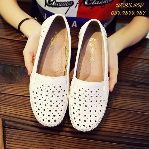 Giày nữ, giày lười nữ, giày da lười nữ