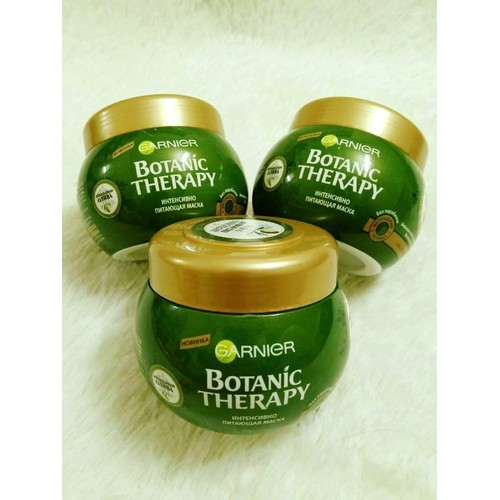 Kem ủ tóc Garnier  tinh chất Oliu phục hồi tóc hư tổn