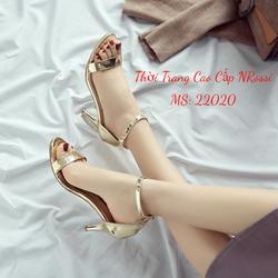 Giày Cao Gót Xăng Đan Quai Ngang 7 Phân Size 40 41 42