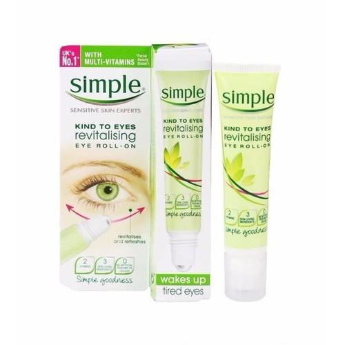 Lăn Dưỡng Mắt Simple Kind To Eyes Revitalising Eye Roll-On 15ml - 4543784 , 16465122 , 15_16465122 , 200000 , Lan-Duong-Mat-Simple-Kind-To-Eyes-Revitalising-Eye-Roll-On-15ml-15_16465122 , sendo.vn , Lăn Dưỡng Mắt Simple Kind To Eyes Revitalising Eye Roll-On 15ml