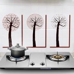 Giấy dán cách nhiệt trang trí nhà bếp