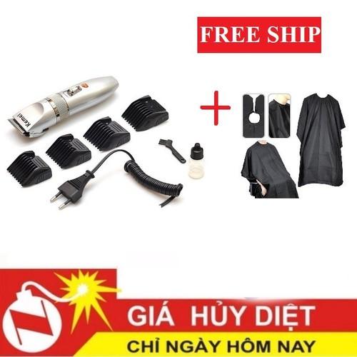 [ FREE SHIP ] Tông đơ - tông đơ 27c tặng kèm áo choàng cắt tóc