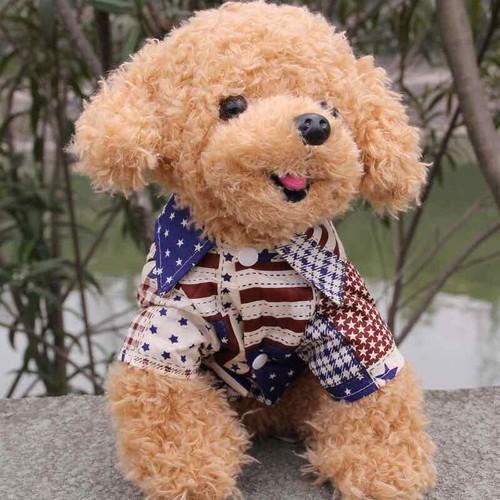 Áo sơmi cờ mỹ cho thú cưng