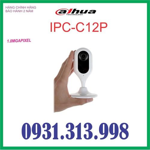 CAMERA IP DAHUA DH-IPC-C12P - 6355622 , 16460730 , 15_16460730 , 678000 , CAMERA-IP-DAHUA-DH-IPC-C12P-15_16460730 , sendo.vn , CAMERA IP DAHUA DH-IPC-C12P