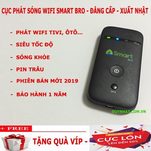 Cục phát wifi từ sim 3G 4G tốt nhất hiện nay- Smart Bro phiên bản Hot nhất