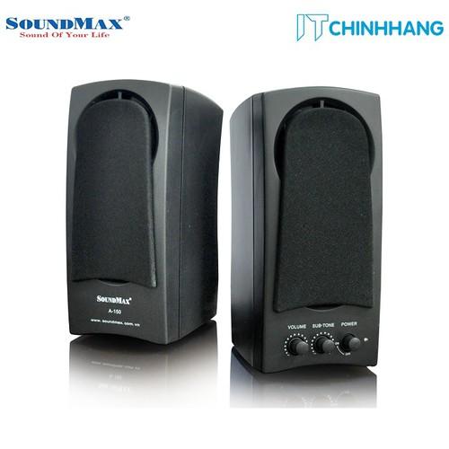 Loa Vi Tính SoundMax A150 2.0 10W - Hàng Chính Hãng
