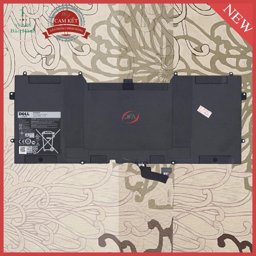 Pin laptop dell XPS 13 9333  55 Wh