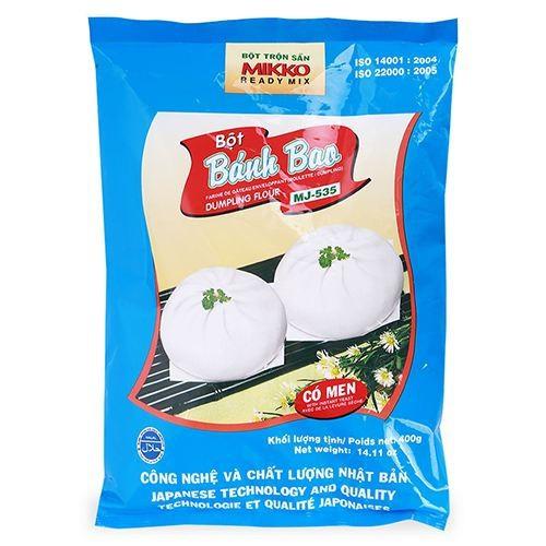Bột bánh bao Mikko có men gói 400g - 6365844 , 16470322 , 15_16470322 , 39000 , Bot-banh-bao-Mikko-co-men-goi-400g-15_16470322 , sendo.vn , Bột bánh bao Mikko có men gói 400g