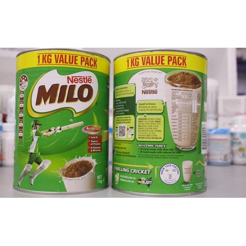Sữa Milo Úc Nestle Chính Hãng 1kg