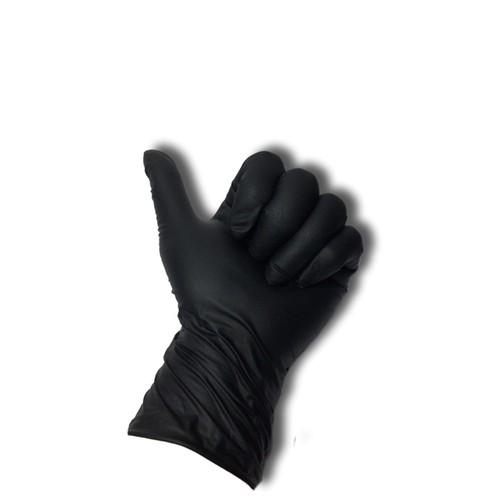 Găng tay ĐEN - SIZE S - dụng cụ phun xăm - hộp nhỏ