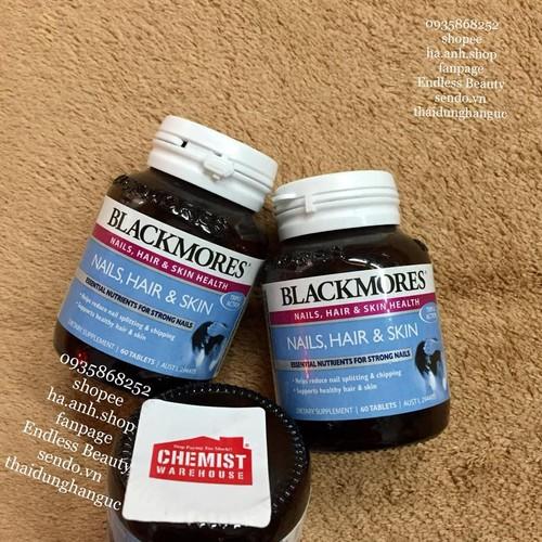 Viên uống Blackmores Nails Hair Skin 60 viên - 6357268 , 16462025 , 15_16462025 , 330000 , Vien-uong-Blackmores-Nails-Hair-Skin-60-vien-15_16462025 , sendo.vn , Viên uống Blackmores Nails Hair Skin 60 viên