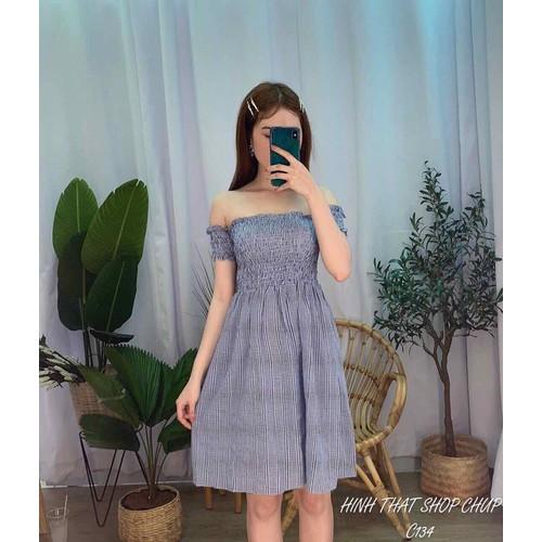Đầm xoè 2 màu 987
