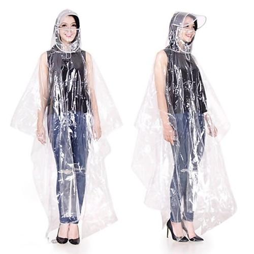Áo mưa trong suốt 2 đầu thời trang