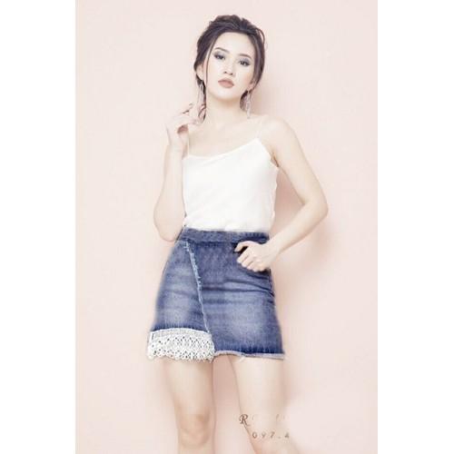 Chân váy jeans ngắn giá rẻ
