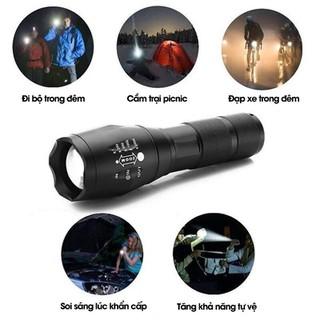 Đèn pin dã ngoại siêu sáng - Đèn pin mini rẻ thumbnail