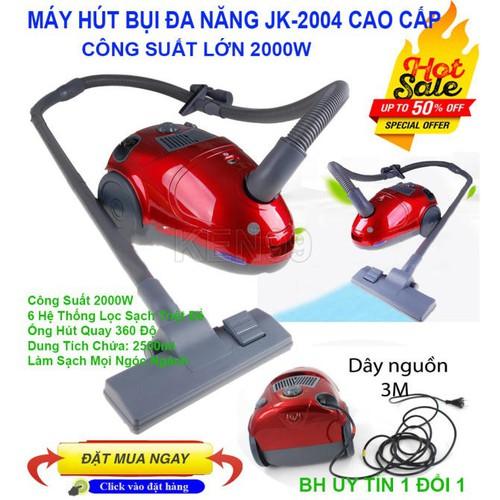 Máy Hút Bụi Vacuum Cleaner JK-2004 Công Suất 2000W - 4543995 , 16470878 , 15_16470878 , 875000 , May-Hut-Bui-Vacuum-Cleaner-JK-2004-Cong-Suat-2000W-15_16470878 , sendo.vn , Máy Hút Bụi Vacuum Cleaner JK-2004 Công Suất 2000W