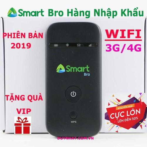 Cục phát wifi 3G 4G tốc độ cao Smart Bro- Phát wifi chuẩn cực mạnh - 6357139 , 16461773 , 15_16461773 , 704000 , Cuc-phat-wifi-3G-4G-toc-do-cao-Smart-Bro-Phat-wifi-chuan-cuc-manh-15_16461773 , sendo.vn , Cục phát wifi 3G 4G tốc độ cao Smart Bro- Phát wifi chuẩn cực mạnh