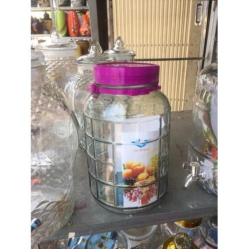bình thủy tinh - 5 lít