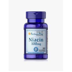 Thực Phẩm Chức Năng Bổ Sung Vitamin PP Puritan's Pride Niacin 100mg