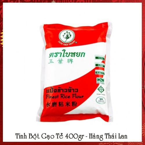 Tinh Bột Gạo Tẻ Jade Leaf - Thái Lan 400g - 6373232 , 16476488 , 15_16476488 , 27000 , Tinh-Bot-Gao-Te-Jade-Leaf-Thai-Lan-400g-15_16476488 , sendo.vn , Tinh Bột Gạo Tẻ Jade Leaf - Thái Lan 400g