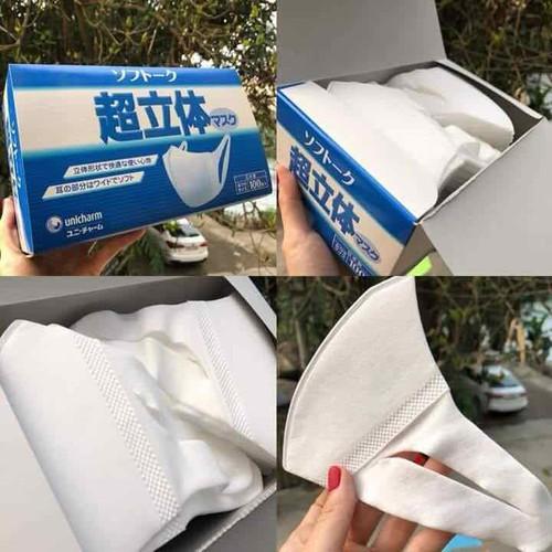 Khẩu trang Unicharm Nhật Bản chống vi khuẩn và khó bụi - hộp 100 cái - 6383606 , 16483932 , 15_16483932 , 350000 , Khau-trang-Unicharm-Nhat-Ban-chong-vi-khuan-va-kho-bui-hop-100-cai-15_16483932 , sendo.vn , Khẩu trang Unicharm Nhật Bản chống vi khuẩn và khó bụi - hộp 100 cái