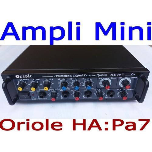 Ampli karaoke mini 12v-220v 100w Oriole HA-Pa7