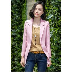Áo vest Blazer nữ ANN79 màu hồng hàng nhập