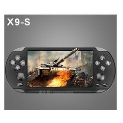 Máy chơi game X9S- 2021, màn hình 5.1inch chơi game PS1 và 10 hệ máy, chép sẵn hơn 10.000 game