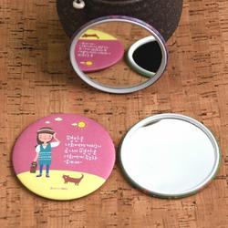 Combo 02 Gương Trang Điểm Mini Hàn Quốc