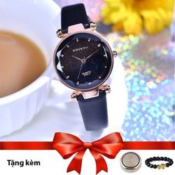 Đồng hồ nữ DOUKOU phong cách hàn quốc dây da mặt nhỏ 28mm
