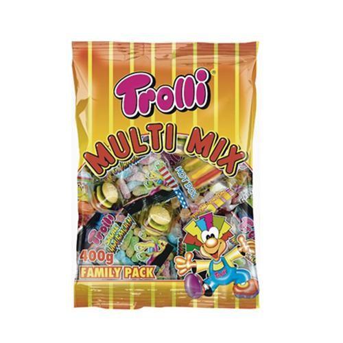 Kẹo Dẻo Nhiều Vị hiệu Trolli 400g