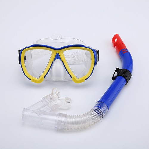 Bộ mặt nạ kính bơi lặn và ống thở MN06