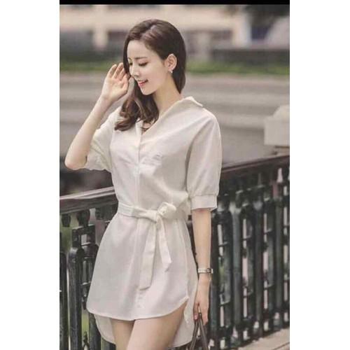 Đầm sơ mi Quảng Châu
