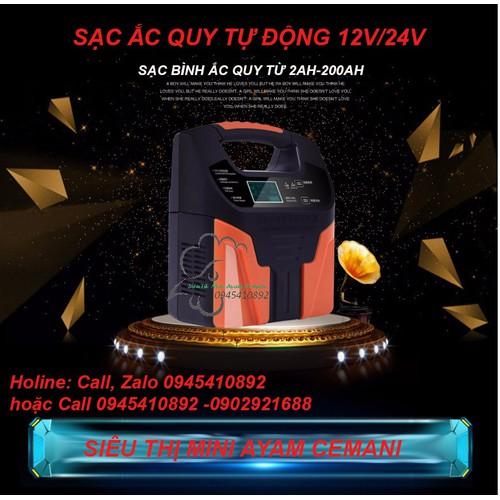 Sạc Acquy tự động 12-24V -Hiển thị LCD- có khử sunfat - 4544831 , 16480076 , 15_16480076 , 839000 , Sac-Acquy-tu-dong-12-24V-Hien-thi-LCD-co-khu-sunfat-15_16480076 , sendo.vn , Sạc Acquy tự động 12-24V -Hiển thị LCD- có khử sunfat