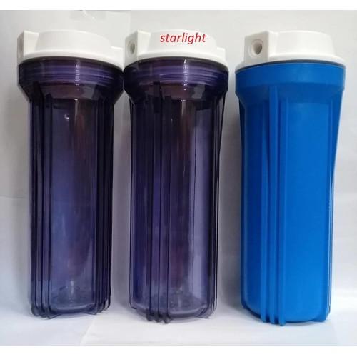 Bộ 3 cốc lọc thô số 1 2 3 ,10 inch ,ren 21 dùng lọc nước sinh hoạt,tặng bộ lõi lọc thô+ 1 giá đỡ +1 tay vặn cốc lọc -new - 6388187 , 16486769 , 15_16486769 , 709000 , Bo-3-coc-loc-tho-so-1-2-3-10-inch-ren-21-dung-loc-nuoc-sinh-hoattang-bo-loi-loc-tho-1-gia-do-1-tay-van-coc-loc-new-15_16486769 , sendo.vn , Bộ 3 cốc lọc thô số 1 2 3 ,10 inch ,ren 21 dùng lọc nước sinh hoạt
