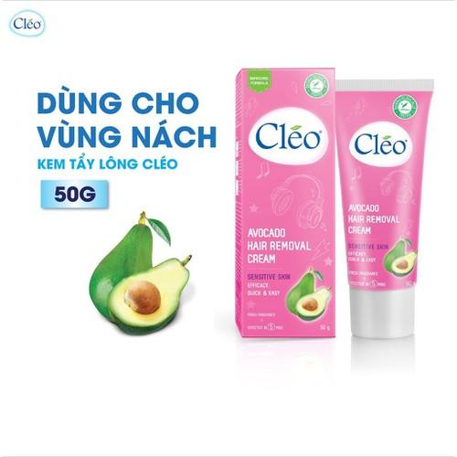 Kem Tẩy Lông Cho Da Nhạy Cảm Cleo Avocado Hair Removal Cream Sensitive Skin 50g - 11078516 , 16485481 , 15_16485481 , 65000 , Kem-Tay-Long-Cho-Da-Nhay-Cam-Cleo-Avocado-Hair-Removal-Cream-Sensitive-Skin-50g-15_16485481 , sendo.vn , Kem Tẩy Lông Cho Da Nhạy Cảm Cleo Avocado Hair Removal Cream Sensitive Skin 50g