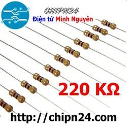 [100 CON] Điện Trở 220K 1/4W
